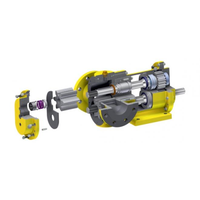 Multi-wing lobe pump, Km Blue Series