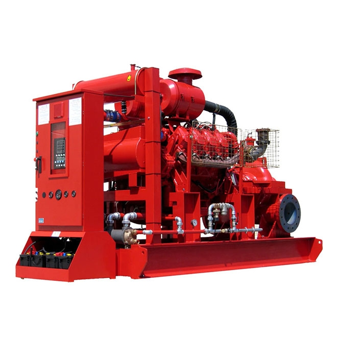 Diesel motor pump unit of 1100 m³/h – 12 bar (NFPA 20)