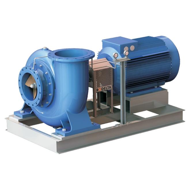 Horizontal singlestage endsuction pump, SPP