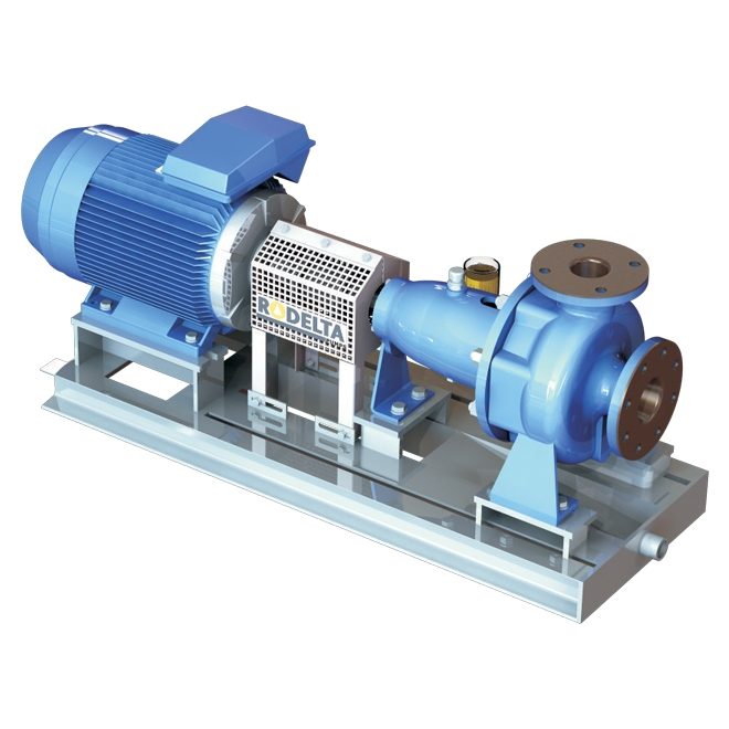Horizontal singlestage endsuction pump, FN