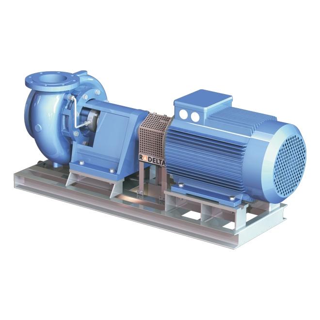 Horizontal singlestage endsuction pump, NK/NKE