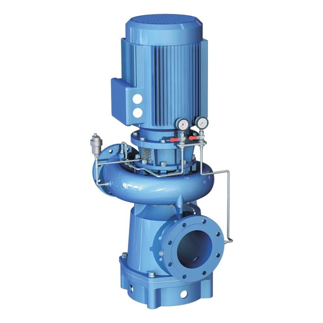 Close coupled vertical single casing volute pump, NSM
