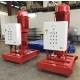 Diesel motor pump unit of 1820 m³/h on test bench (NFPA 20)