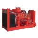 Diesel motor pump unit of 880 m³/h – 11 bar (NFPA 20) – Cooling by radiator